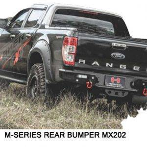 M-Series Rear Replacement Bumper