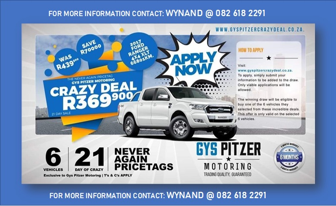 Autosteel Ford Range deal