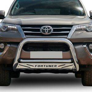 stainless nudgebar fortuner maxe