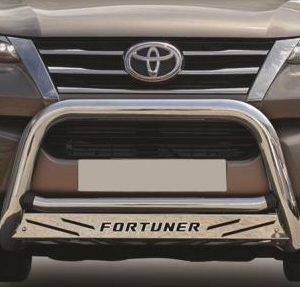 Stainless Fortuner Maxe Nudgebar